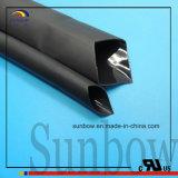 Semi Rigid Black Adhesive Liner Polyolefin Heat Shrink Tubing
