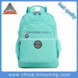 Ladies Waterproof Wrinkled Nylon Laptop Computer Shoulder Backpack School Bag