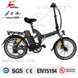 250W Black Folding Electric Bike With 36V Lithium Battery (JSL039D)