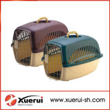 Portable Pet Plastic Carrier Crate for Small Animals