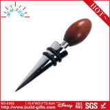 Wine Bottle Stopper Parts with Wooden Top Part