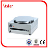 Single Head Electric Pancake Griddle Maker Machine, Table Top Stainless Steel Crepe Maker for Sale