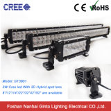 3D Lens 4X4 Jeep CREE LED Bar Light IP68 Double Rows 52inch 300W