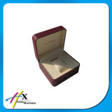 Factory Price High Quality Textured Leather Single Watch Box