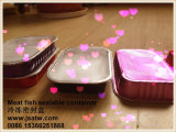 Oven Safe Packing Used Food Carrying Container with Foil Lid