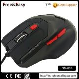 6 Buttons Desktop USB Wired Gaming Plus Weight Mouse