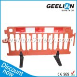 Plastic Portable Barricade, Traffic Control Water Filled Road Crash Barrier