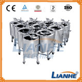 Mirror Polishing Stainless Steel Storage Tank for Cosmetic/Pharmacy