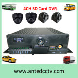 4CH SD Card Vehicle Mobile DVR with GPS 3G 4G