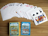 Italian Promotional Paper Playing Cards/Custom Poker Playing Cards