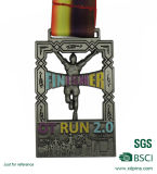 Cheap Custom Running Competition Award Medal with Ribbon