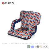 Orizeal Portable Reclining Seat with Backs Arm Rest Folding