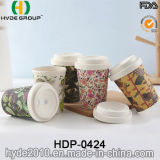 Customized Organic Coffee Mug Bamboo Fibre Cup with Sleeve