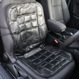 Black Comfortable Soft Purpose Leather Seat Cushion