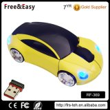 Fashion Sport 2.4GHz Optical Car Shaped Wireless Mouse