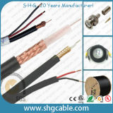 Mil Standard Video Surveillance Coaxial Cables 2.5c-2V Rg59 Mini Coax