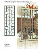 Stainless Steel Screen Guardrail for Office Use (Petal Pattern)