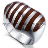 316L Stainless Steel Woman Fashion Enamel Ring