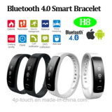 2017 Hot Selling Android&Ios Smart Bluetooth Bracelet with IP56 Waterproof H8