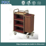 Restocking Room Service Trolleys with Wheels