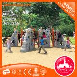 School Yard Plastic Climbing Wall Kid Playground Equipment