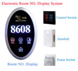 LCD Do Not Disturb/Room Number/Hotel Logo Touch Screen