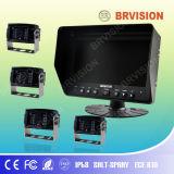 "Brvision Unique Design 7"" Quad Split Screen Monitor"