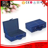 High Class Matching Sewing PU Leather Storage Case