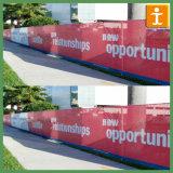 Custom Vinyl Mesh Fence for Construction Building