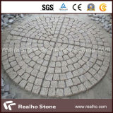 Roundness Cube Granite Paving Stone for Construction