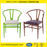 Classical Y Chair Iron Chair PU Seat