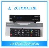 Top Sale Zgemma H. 2h Enigma2 Dual Core DVB-S2+T2/C
