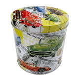 Round Tin Box for Toys Packaging