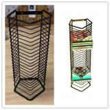 Wholesale CD and DVD Display Metal Shelf Rack