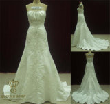 Embroidery Wedding Dress/Bridal Gown