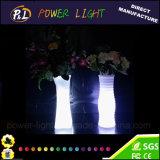 Home Decoration Illuminated Plastic Colorful LED Vase