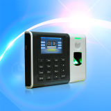 Office Security Time Clock Terminal with Fingerprint Reader