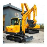 CE Mini Crawler Excavator with Engine Yammar