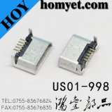 DIP Type Micro USB Connector with 5pin (US01-998)
