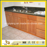 China Green Granite Vanity Top for Bathroom or Kitchen