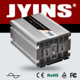 Jyins 12V/24V DC to AC 110V/220V 1000W UPS Pure Sine Wave Solar Power Inverter with Charger