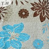 2016 Artificial Chenille Jacquard Fabric From China Manufactory (FTH31902)