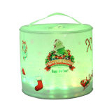 Christmas Colourful Solar Lantern for Outdoor Decoration