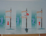 2016 New Design Twist Mop Squeeze Mop Microfiber Flat Mop
