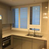 2017 Australia High Quality White Basswood Plantation Shutters