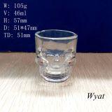 50ml Skull Head Glass Cup Glass Skull Design Cup Skull Glass