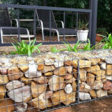 60*80 Galfan Wire Welded Gabion Basket Prices, Gabion Wall Factory