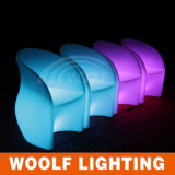 Outdoor RGB Color Changing Plastic LED Furniture