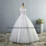 Lace up Back Croset Wedding Dress for Bride Made Customer