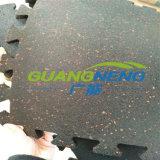 Interlocking Gym Rubber Flooring /Gym Rubber Flooring/Anti-Slip Rubber Flooring Sports Rubber Flooring